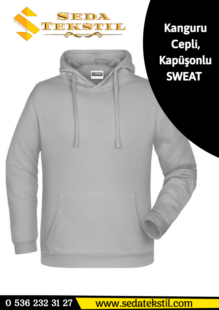 Kapüşonlu Polar Sweat